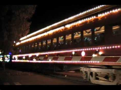 santa cruz holiday lights train the 2010 santa cruz holiday lights train 12 23 10 youtube