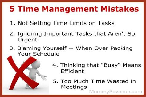 mistakes     managing