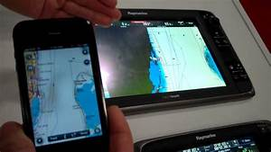 Raymarine E-series Demo   2012 Miami Show