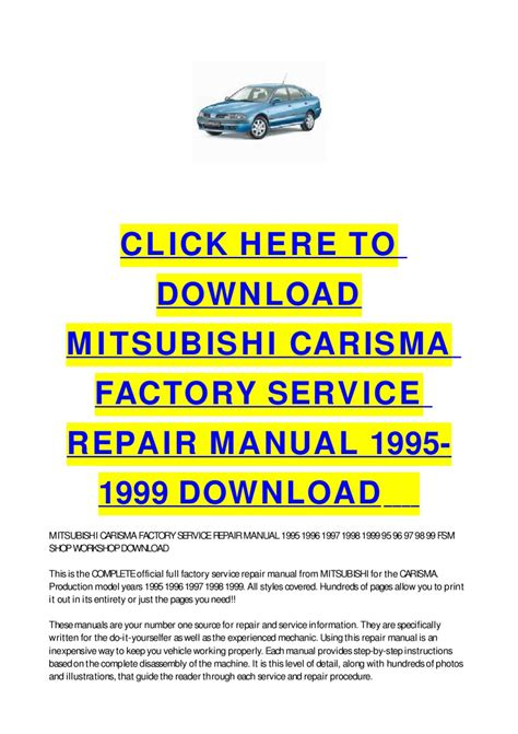 free online car repair manuals download 1999 mitsubishi montero sport spare parts catalogs mitsubishi carisma factory service repair manual 1995 1999 download by cycle soft issuu