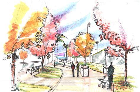colour landscape architects architecture sketch watercolor google search dab103 watercolour pinterest public