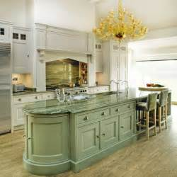 green kitchen islands grand kitchen with green island traditional kitchens housetohome co uk