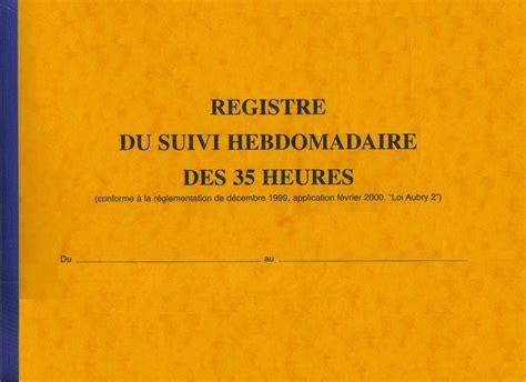 registre du travail modele registre du suivi du temps de travail du personnel elve