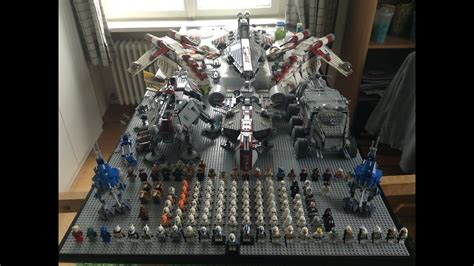 lego star wars clone army  huge youtube