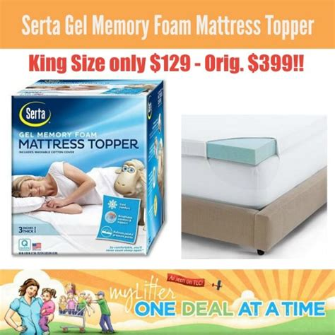 kohls mattress topper kohl s serta king size gel memory foam mattress topper