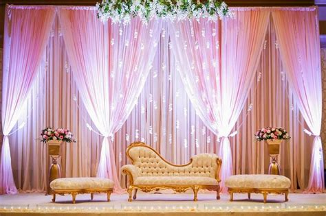 indian pakistani bengali wedding stages  pinterest