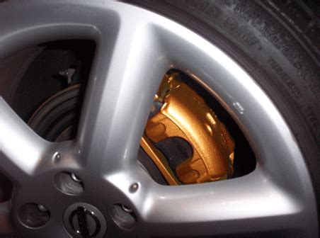 painted  calipers brembo gold knock  myzcom