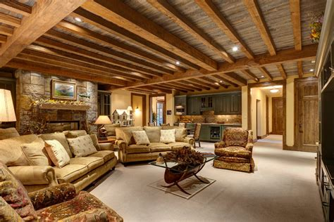 modern contemporary living room ideas cool basement ceiling ideas decorating ideas gallery in