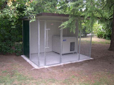 tettoia coibentata box per cani da esterno singolo con cuccia coibentata retex