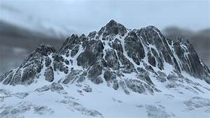 snow mountain 09 3D Model .blend - CGTrader.com
