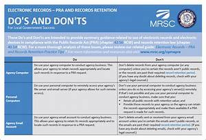 electronic records retention policy sample With records management policy template