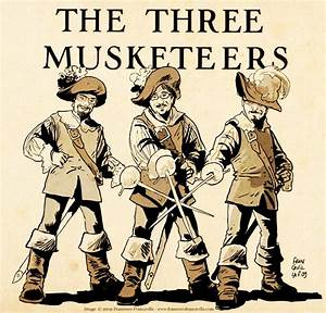 Alexandre Dumas: The Three Musketeers – FrostClick.com ...