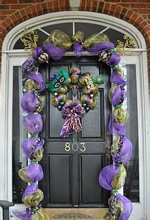 Mardi Gras Door Decoration New Orleans by Mardi Gras Outdoor Decorations On Mardi Gras