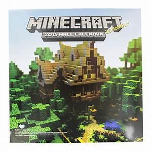 Minecraft 2015 Wall Calendar   Minecraft Toys at The Works  Minecraft