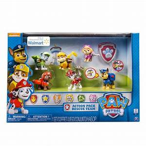 Paw Patrol Set : spin master paw patrol paw patrol action pack rescue team walmart exclusive ~ Whattoseeinmadrid.com Haus und Dekorationen