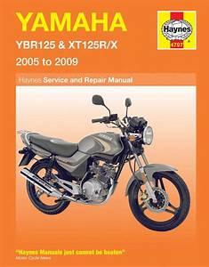 New Yamaha Ybr125  Xt125 Haynes Manual