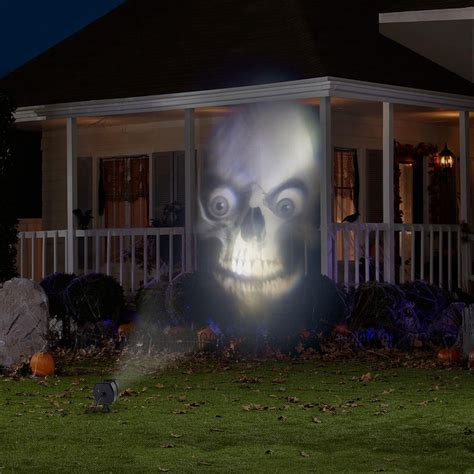 Outside Projector Lights by Lightshow Animated Outdoor Projection Fade Steady White