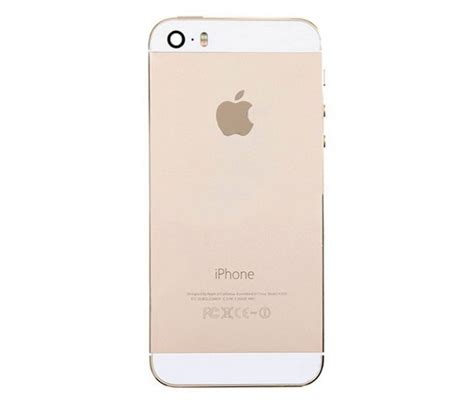 how to backup iphone 5s iphone 5s back housing gold