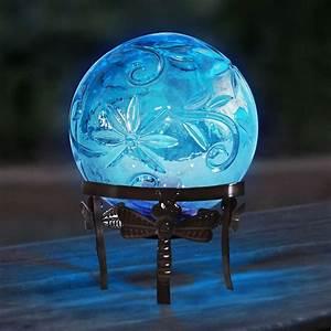 10, U0026quot, Glass, Globe, D, U00e9cor, W, Led, Light