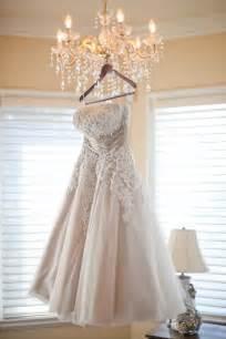 tea length bridesmaid dresses tea length wedding dress lace onewed