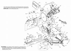 Ridgid R4120 12 U0026quot  Compound Miter Saw Parts And Accessories