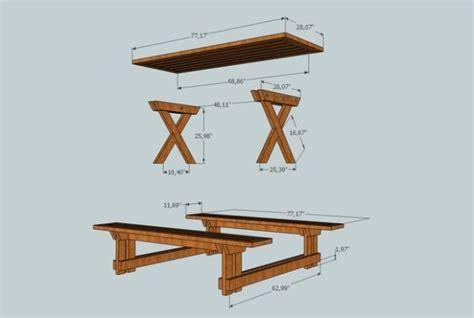 diy picnic table   xs