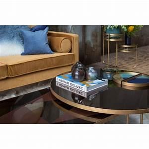 Table Basse Notre Monde : table basse geometric bronze de notre monde 102 x 61 x 36 ~ Melissatoandfro.com Idées de Décoration