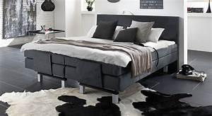 Elektrisch Verstellbares Bett : elektrisch verstellbares boxspringbett lanark ~ Whattoseeinmadrid.com Haus und Dekorationen
