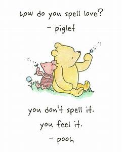 Pooh and Piglet... Baby Shop Quotes