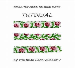 Bead Crochet Rope Pattern Pdf File Tutorial By