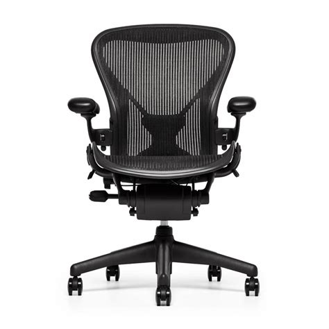 refurbished herman miller aeron chair graphite workbrands