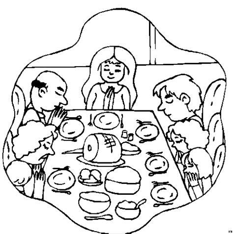 Familie Am Beten Ausmalbild & Malvorlage (menschen