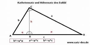 Ladungsmenge Q Berechnen : wann verwendet man den h hensatz des euklids im ~ Themetempest.com Abrechnung