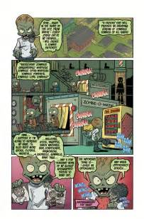 zombies plants vs battle comics hc volume books horse dark profile