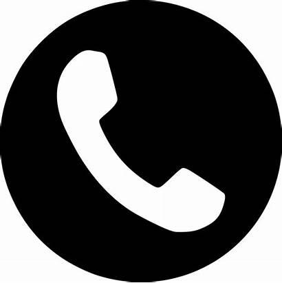 Phone Telephone Symbol Clipart Icon Number Transparent