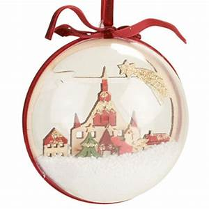 Boule De Noel Transparente : 11 best noel images on pinterest christmas balls natal and diy christmas decorations ~ Teatrodelosmanantiales.com Idées de Décoration