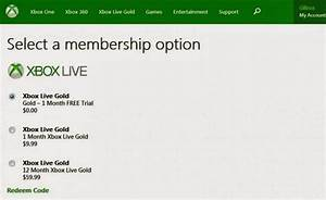 Free Xbox Live 2 Month Trial