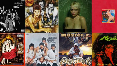 wildest censored album covers banned   usa