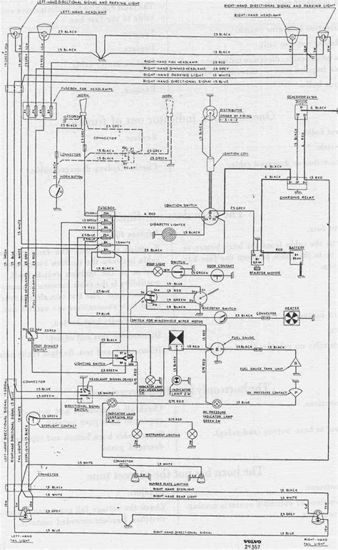 complete wiring diagram of volvo pv544 circuit wiring diagrams