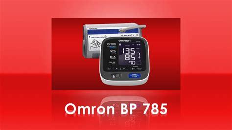 Omron BP785 10 Series Home Blood Pressure Monitor - YouTube