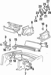 oem interior trim rear body for 1999 pontiac firebird With pontiac oem parts