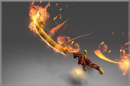 blade of the wandering flame dota 2 wiki