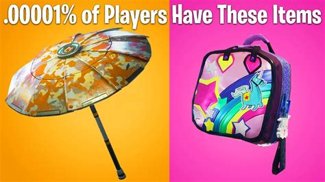 top  rarest skins  fortnite cosmetic items  dont