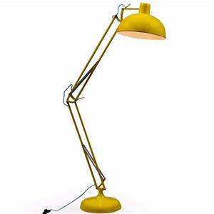 yellow angled large classic desk style floor lamp blue With large yellow floor lamp