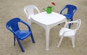 Salon De Jardin Pour Enfant : salon moghli avec 1 table et 4 chaises baghera 2 chaises ~ Dailycaller-alerts.com Idées de Décoration
