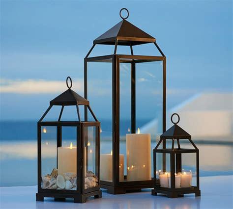 laterne für terrasse la lanterne bougie 118 id 233 es de d 233 coration