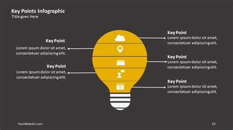 key points  infographic  ocean