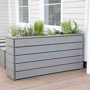 Die besten 17 ideen zu outdoor pflanzkubel auf pinterest for Markise balkon mit tapeten wohnzimmer modern grau