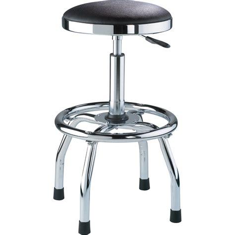 torin big red adjustable swivel shop stool  chrome