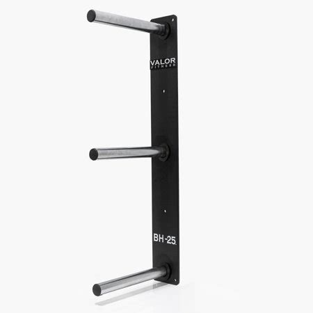 valor fitness bh  wall mounted weight plate storage holderrack  bumper plates  olympic